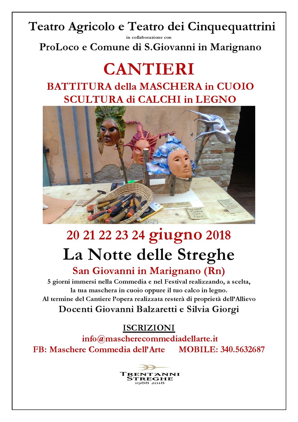 Locandina Cantieri 2018